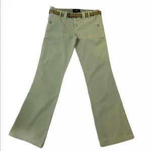 Sanctuary Bootcut Peace Pants Olive